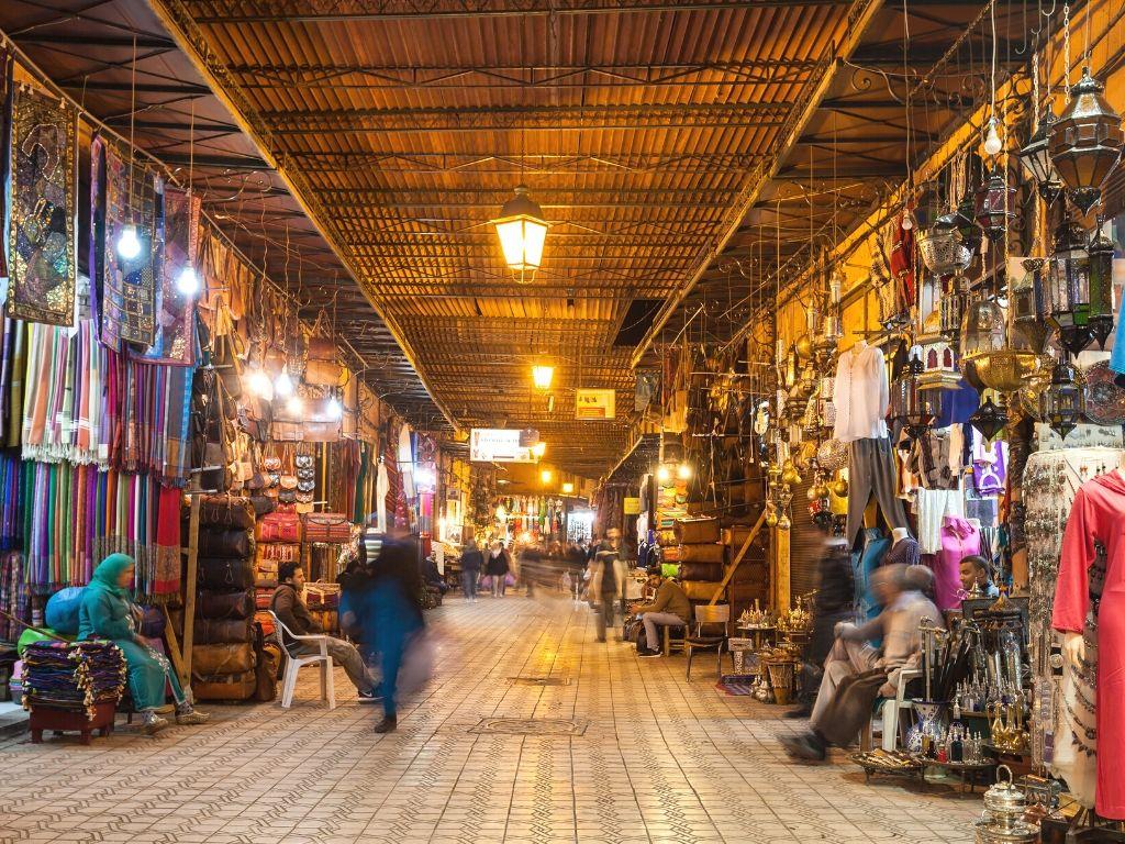 Marrakech city Morocco