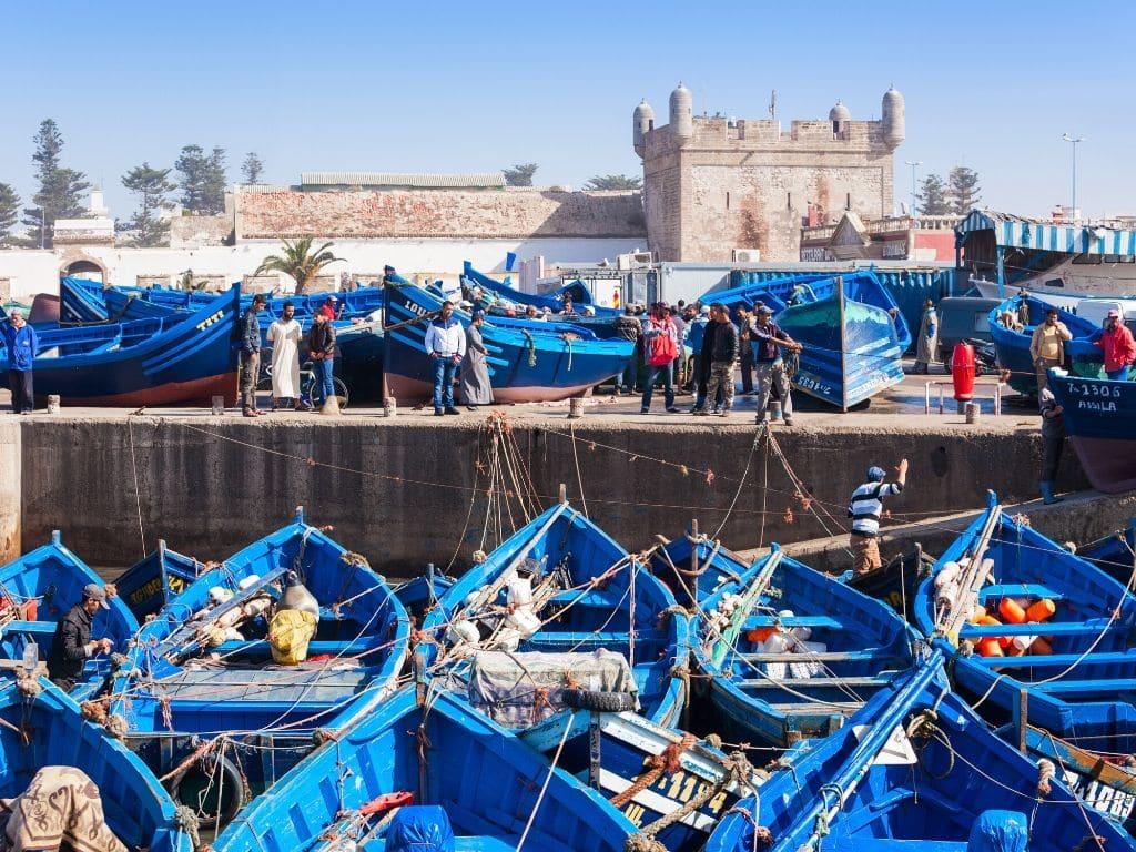 Port Essaouira Morocco