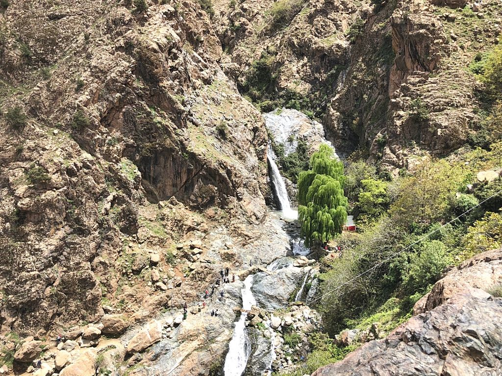 Setti Fatma waterfall Morocco