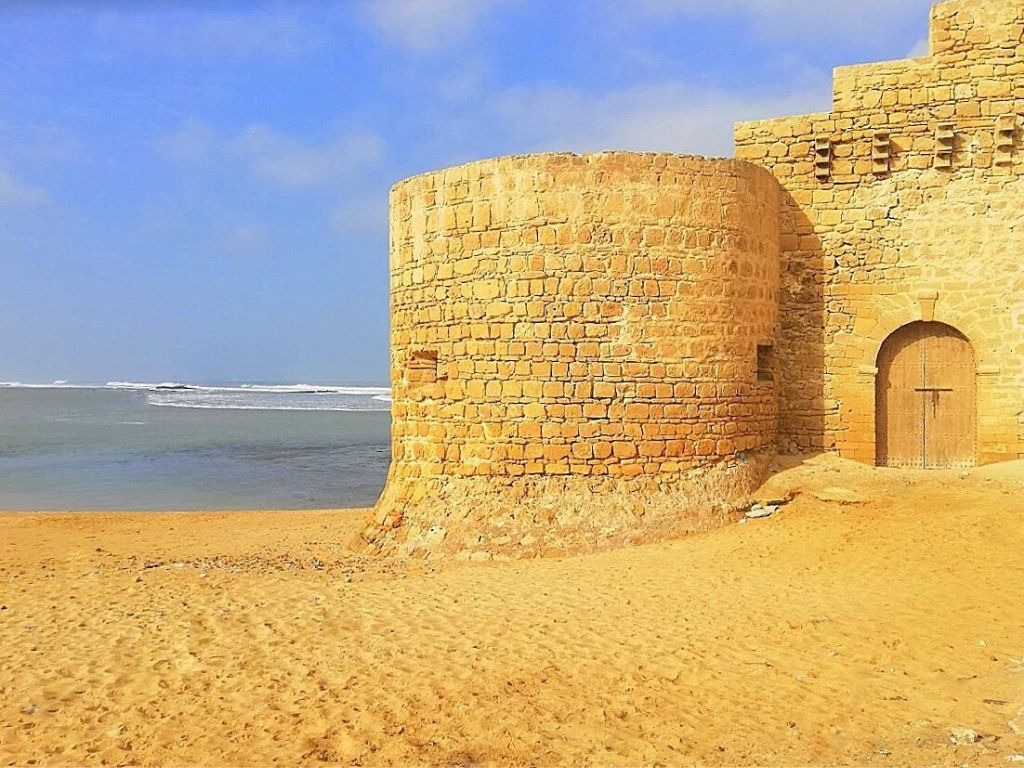 Agouz Castle Archaeological site Morocco