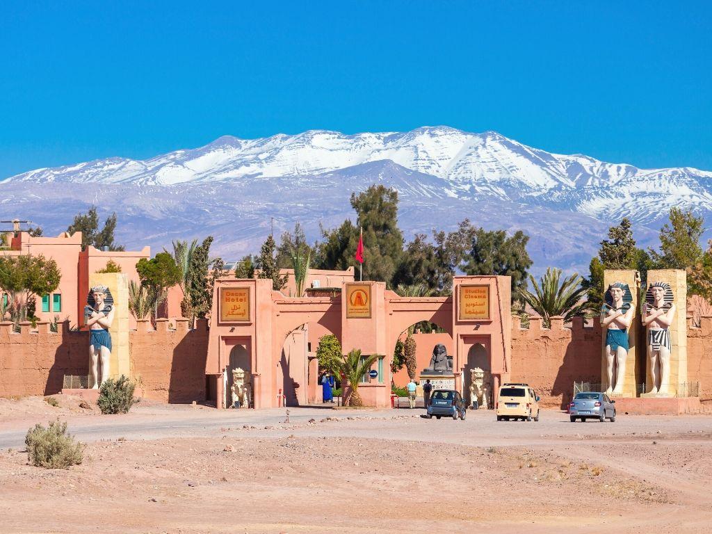 Atlas Studios in Ouarzazate Morocco