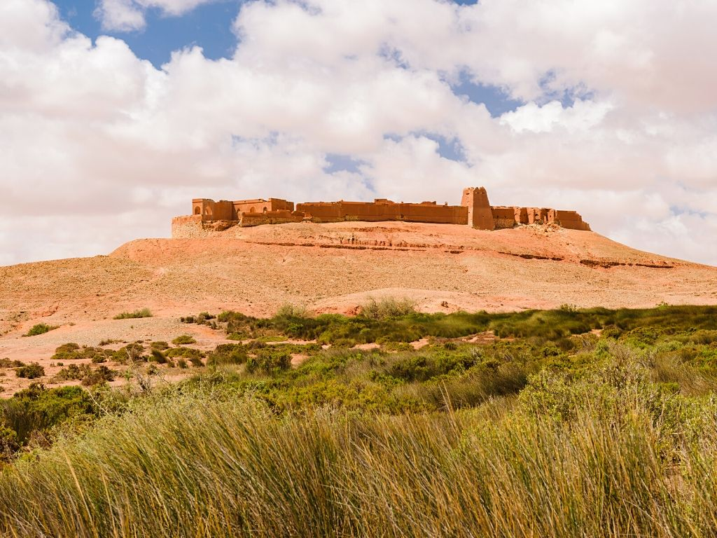 Bou Jerif Fort Archaeological site Morocco