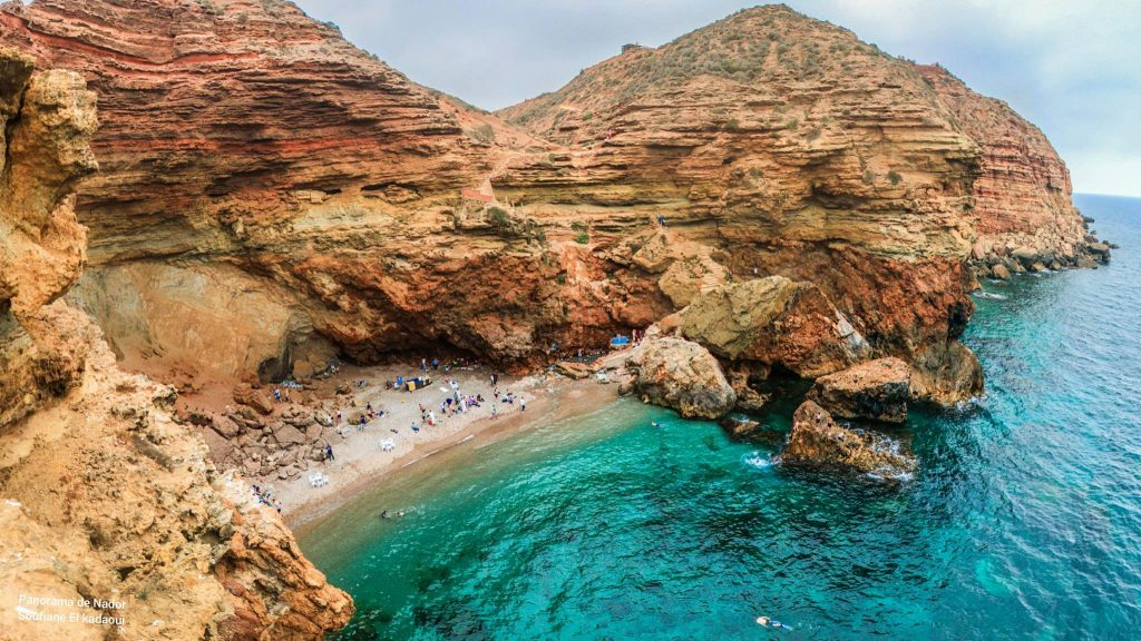 Chaabi beach in Morocco