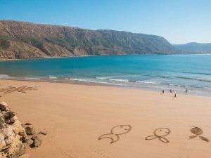 Imsouane beach in Morocco