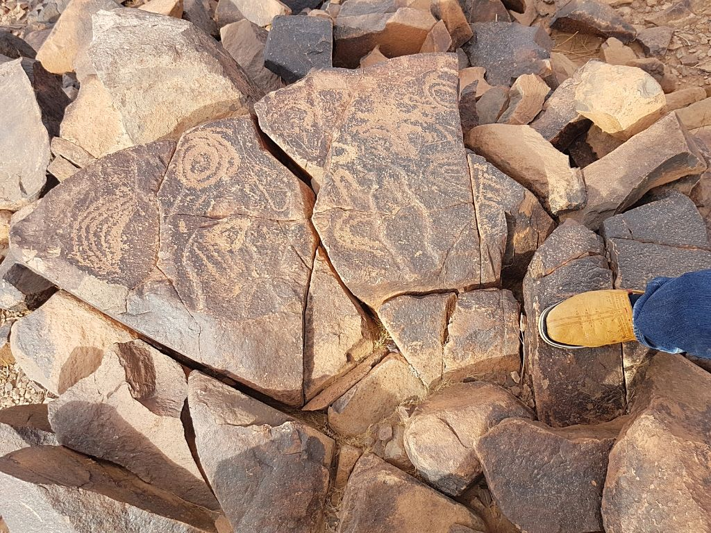 Jbel Adad Rock Art in Morocco