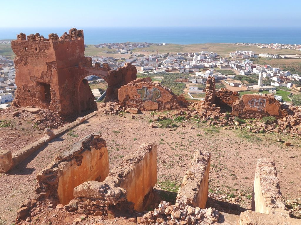 Mirleft Fort Archaeological site Morocco