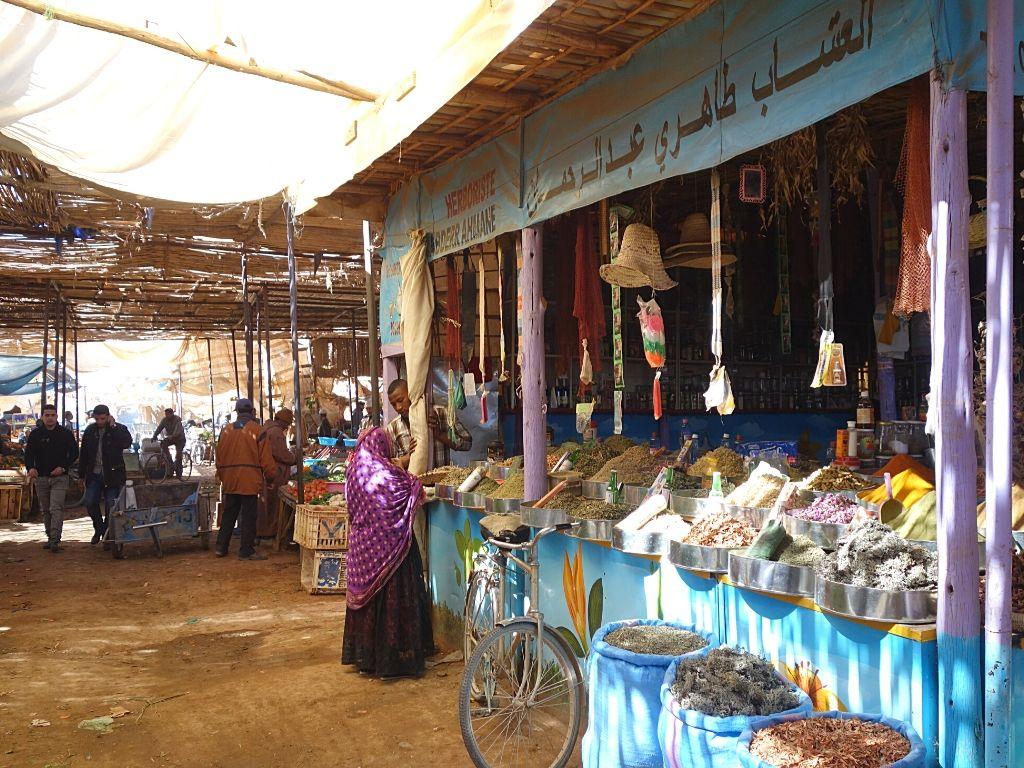 Rissani Market Morocco