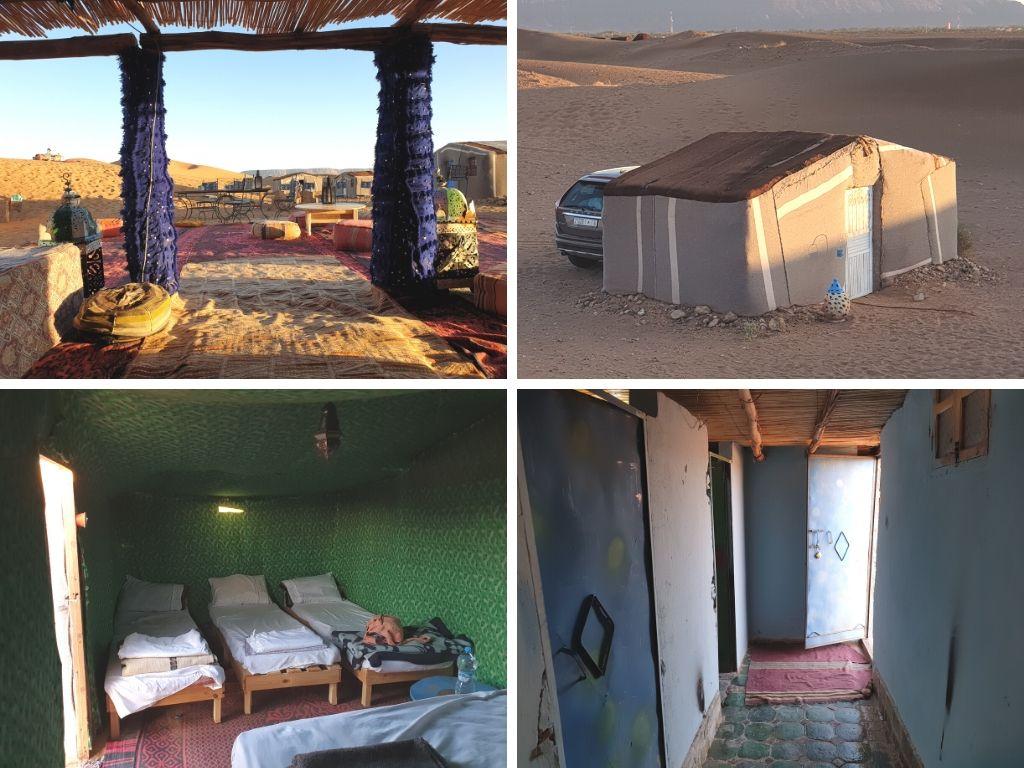 Standard desert camp in Tinfou