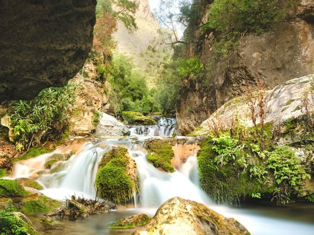 Talassemtane National Park in Morocco