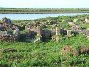 Thamusida Roman Port Archaeological site Morocco