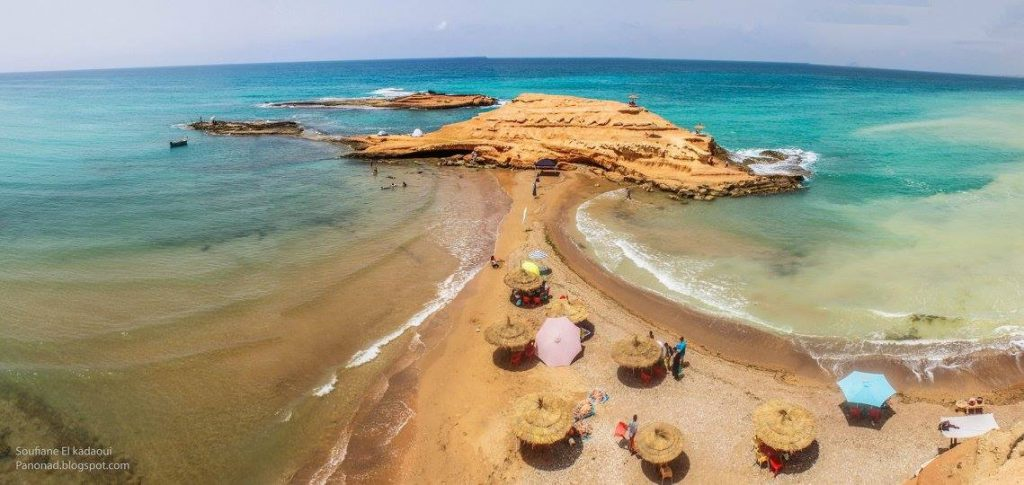 Thmadhet beach in Morocco