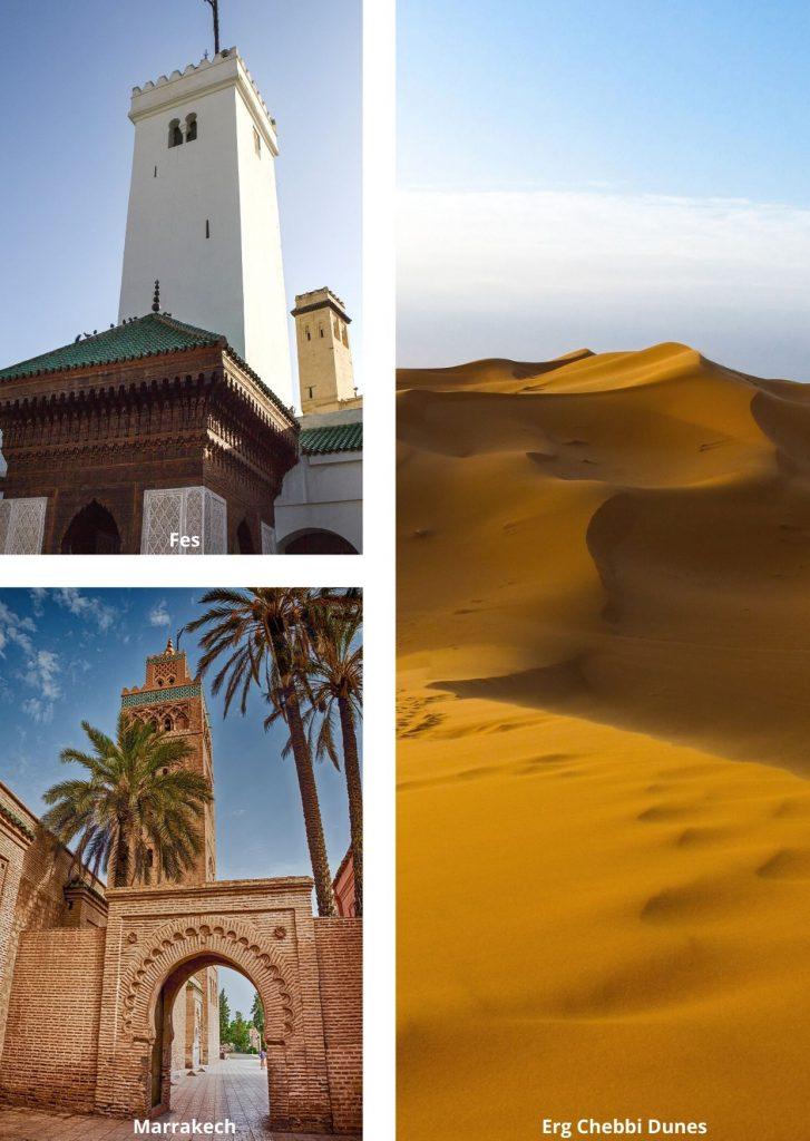 Best Fes to Marrakech desert tours