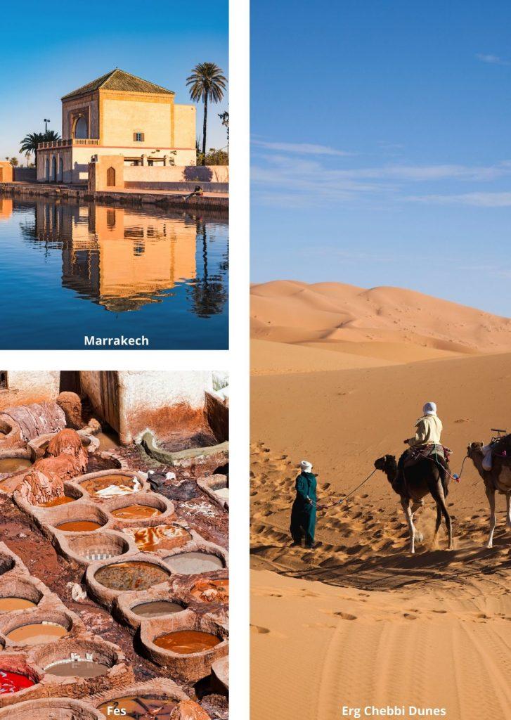 Best Marrakech to Fes desert tours